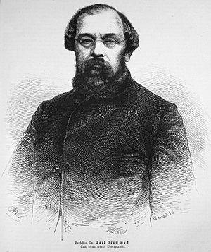 Carl Ernst Bock - Dr. Carl Ernst Bock in 1874.