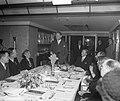 Diner Buitenlandse Persvereniging aan de Westerdam. Toespraak Minister Stikker, Bestanddeelnr 903-7952.jpg
