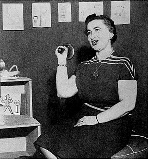 Ding Dong School - Miss Frances on the air in 1953