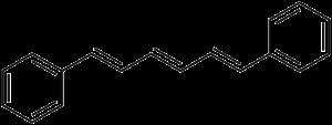 Diphenylhexatriene - Image: Diphenylhexatriene
