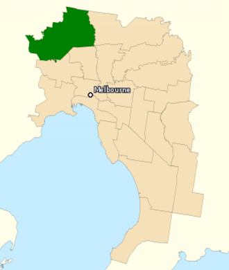 Division of Calwell - Division of Calwell in Victoria, as of the 2016 federal election.