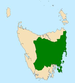 Division of Lyons Australian federal electoral division
