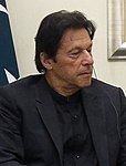 Dmitry Medvedev's meeting with Prime Minister of Pakistan Imran Khan (cropped, 2).jpg