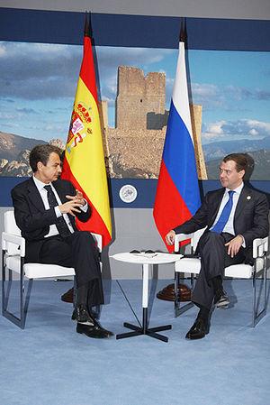 Dmitry Medvedev at the G8 Summit - 10 July 2009-1