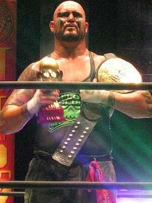 Gallows and Anderson - Doc Gallows as one half of the IWGP Tag Team Champions