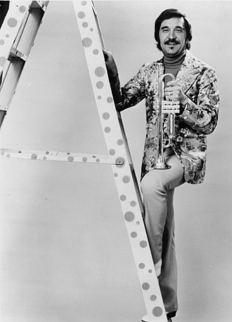 The Tonight Show Starring Johnny Carson - Doc Severinsen, leader of The NBC Orchestra, known for his flashy outfits