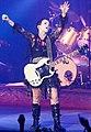 Dolores O'Riordan guitar 2010.jpg