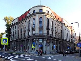 theatre in Warsaw, Poland