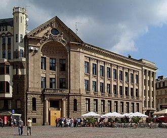 Latvijas Radio - The Latvijas Radio building in Riga's Cathedral Square