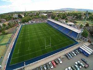 Donnybrook Stadium - Image: Donnybrook Stadium aerial view