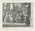 Doop van prins Willem V, 1748 Doopplechtigheid van Willem, Erf-prins van Oranje en Graaf van Buren enz. op den 11 April 1748 (titel op object), RP-P-OB-83.998.jpg