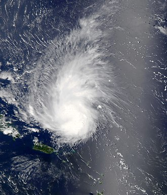 Tropical wave - 2013's Tropical Storm Dorian as a strong tropical wave on August 29