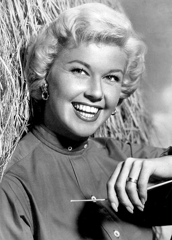 Photo Doris Day via Wikidata