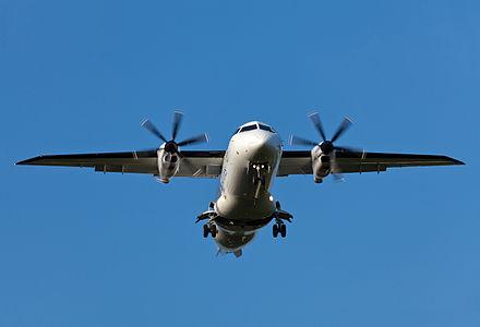 A Dornier 328-100.