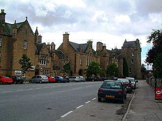 Sutherland - Castle Street in the Royal Burgh of Dornoch