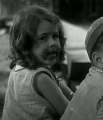 Dorothy DeBorba - Dorothy DeBorba, seen here at age 5 in the Our Gang short film ''School's Out''