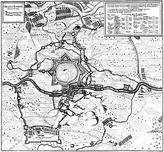 Dorsten - Dorsten in 1641