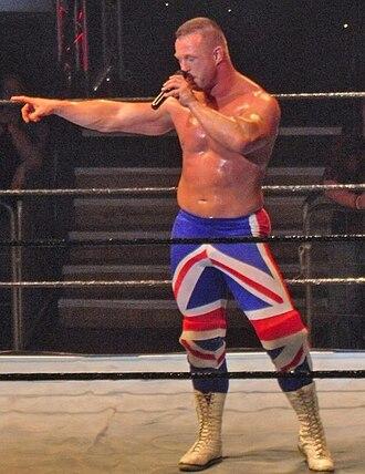 Doug Williams (wrestler) - Williams in his British Invasion attire.