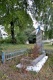 Dovhiv Gorokhivskyi Volynska-monument to the countryman-1.jpg