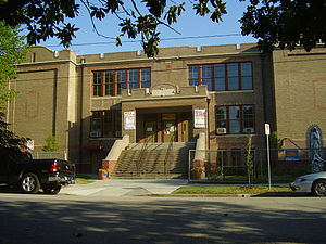 Houston GLBT Community Center - The Dow School in the Sixth Ward is the headquarters