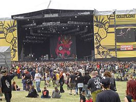 Het Download Festival in 2005