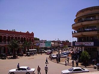 Lubumbashi - Image: Downtown Lubumbashi, Democratic Republic of the Congo 20061130