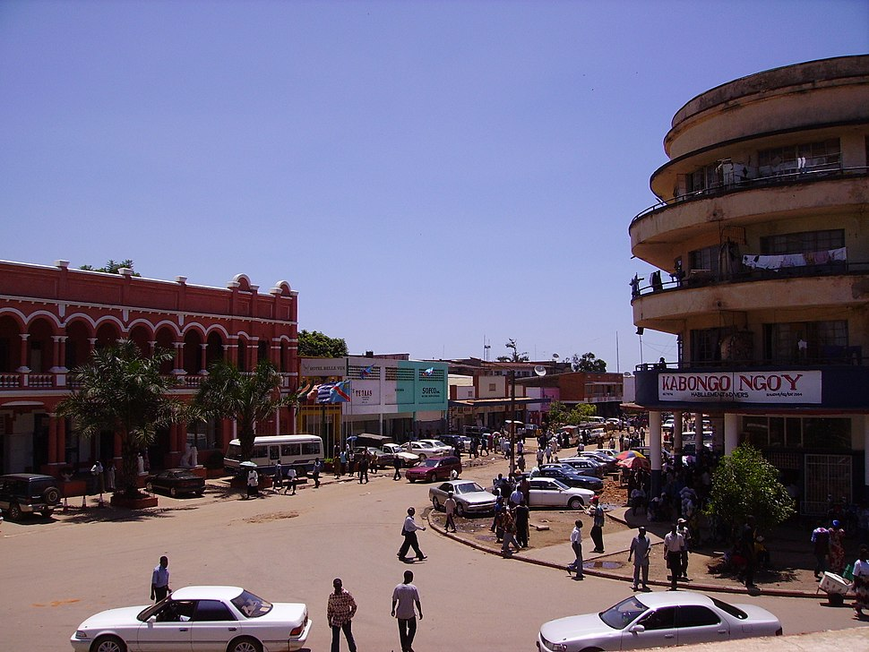 Downtown Lubumbashi, Democratic Republic of the Congo - 20061130
