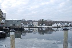 Downtown Mystic, CT Mystic River.JPG