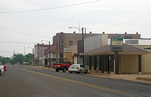 Quanah, Texas - Quanah's commercial district is listed on the National Register of Historic Places