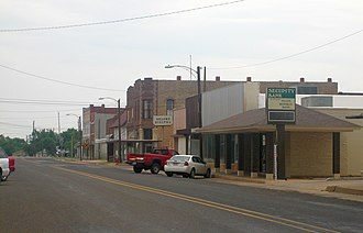 Quanah, Texas - Quanah's commercial district is listed on the National Register of Historic Places.