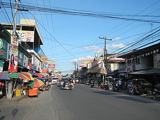 Magalang, Pampanga - Downtown area