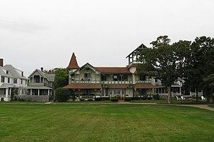 Dr. Harrison A. Tucker Cottage - Image: Dr. Harrison A. Tucker Cottage, Oak Bluffs MA