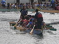 Dragon boats pulling out to race at 2008 SFIDBF 15.JPG