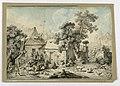 Drawing, Seated Shepherd, 19th century (CH 18563603-2).jpg