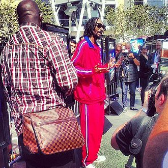"Turbo (film) - Snoop Dogg, who voices Smoove Move in the film, debuted ""Let the Bass Go"", a song he created for the film's soundtrack, at the E3 convention."