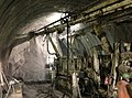 Drilling of the tunnel face anchors, Val di Sambro Tunnel, Italy.jpg
