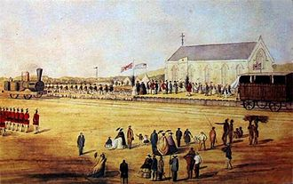 1860 in South Africa - Official Opening of the Natal Railway Company