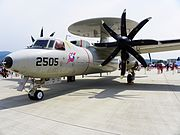 E-2K in Songshan Air Force Base 20110813