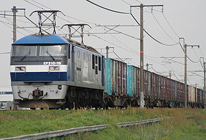 JR Freight Class EF210 - EF210-16 in April 2007