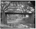 ELEVATION FROM SE. - Sycamore Creek Bridge, Spanning Sycamore Creek at County Route 288, Hamilton, Hamilton County, TX HAER TX,97-HAMIL.V,2-3.tif