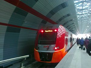 Kazan International Airport - Kazan Aeroexpress-Lastochka