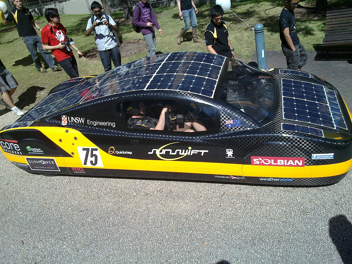 List Of Prototype Solar Powered Cars Wikipedia