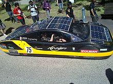 Liste Von Solarfahrzeugen Wikipedia