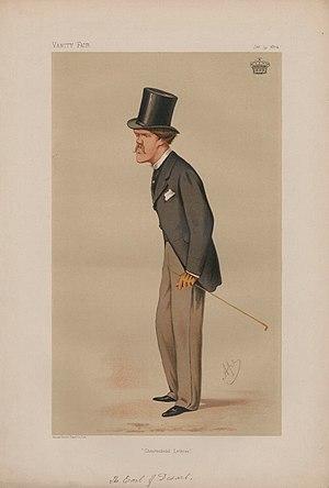 Earl of Desart - 4th Earl caricatured by Ape for Vanity Fair, 1874