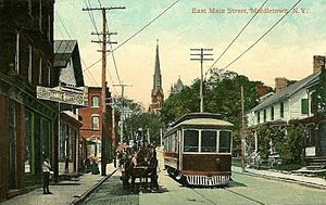 Middletown, Orange County, New York - East Main Street in 1909