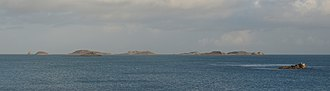 Eastern Isles - Eastern Isles seen from Pentle Bay, Tresco
