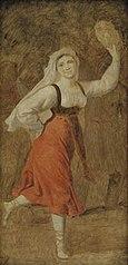 A Dancing Italian Girl