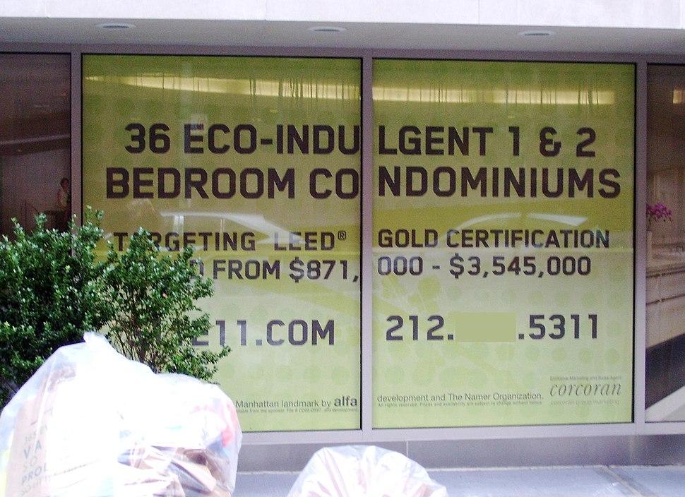 Eco-indulgent apartments