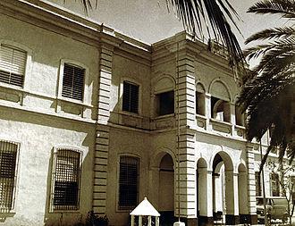 Universidad del Sagrado Corazón - Colegio del Sagrado Corazón, first building at Miramar
