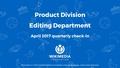 Editing department – Quarterly Review slide deck, 2016–17 Q3.pdf